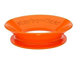 Staybowlizer Orange Silicone Bowl Stabilizer