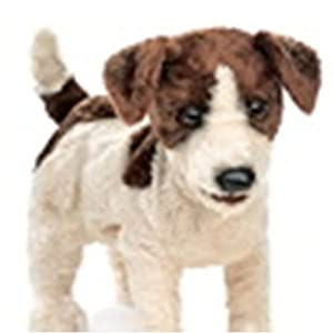 Jack Russell Terrier Puppet from Folkmanis Puppets