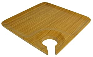 Bartelt Bamboo Single Wine and Dine Tray