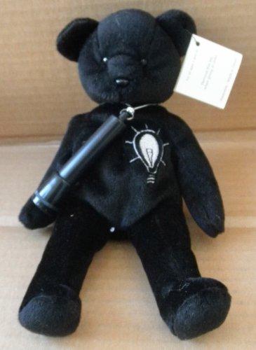 Blackout the Y2K Teddy Bear - Black  Flashlight