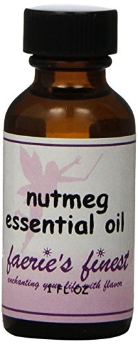Faeries Finest Nutmeg Essential Oil with Dropper, 1 Fluid Ounce