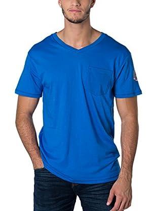 Geographical Norway Camiseta Manga Corta Snht (Azul)