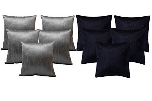 AMAZON GREAT INDIAN FESTIVAL SALE DISCOUNT - SPECIAL OFFER...!!! BUY 5 GET 5 Plain Cushion Covers (16