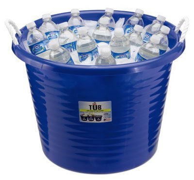 United Solutions TU0085 Rope Handle Utility Tub 17gal - Blue (Pack of 6) (Pack of 6)