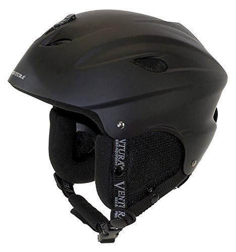 Ventura Erwachsenen Ski-Helm Universal, matt black