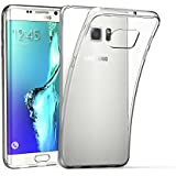EasyAcc Samsung Galaxy S6 edge plus Hülle Case Silikon Transparent HandyHülle SchutzHülle TPU Crystal Clear Case Backcover Bumper Slimcase