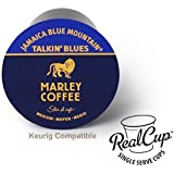 Exotic Flavor! 12 Marley Coffee TALKIN' BLUES 100% Jamaica Blue Mountain Limited Edition!