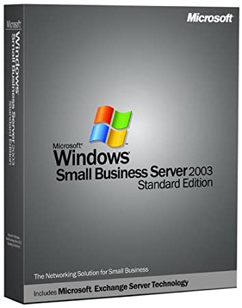 Microsoft Windows Small Business Server Standard 2003 With Service Pack (5 Client) [Old Version]