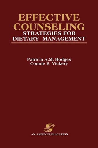 Effective Counseling Strategies For Dietary Management (Collected Papers Of Bertrand)