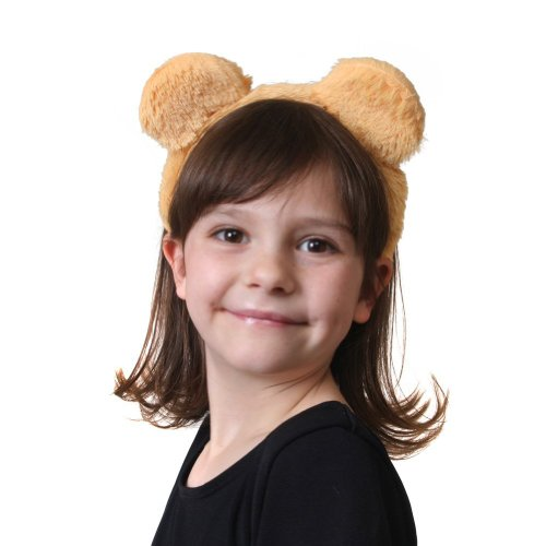 Plush Honey Bear Headband