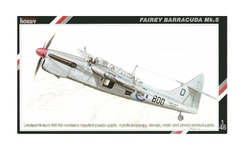 Special Hobby 48069 Fairey Barrcuda Mk5 1:48 Plastic Kit Maquette