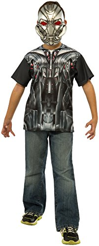 Rubie's Costume Avengers 2 Age of Ultron Child's Ultron T-Shirt and Mask, Large