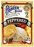 Pioneer Brand Peppered Gravy Mix 2.75oz pack of 6