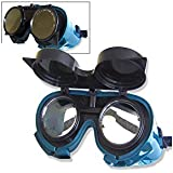 Neiko 53849A Flip-Up Style, ANSI Approved Comfort-Fit Welding and Torch Safety Goggles