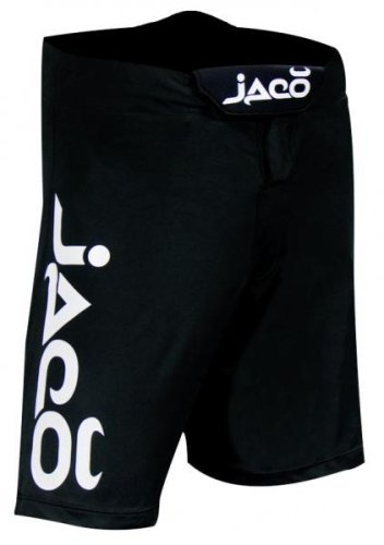 Jaco Male Jaco Resurgence MMA Fight Shorts - White