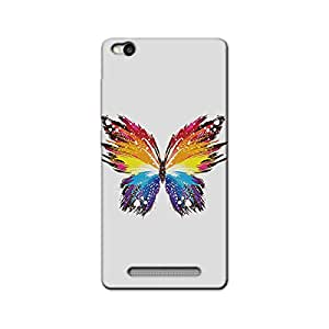 BUTTERFLY RAINBOW BACK COVER XIAOMI REDMI 3S
