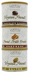 FERIDIES PEANUTS 3-Flavor Variety Pack Chocolate  Salted