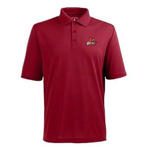 Louisville Pique Xtra Lite Polo Shirt (Team Color) by Antigua