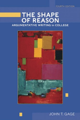 The Shape of Reason: Argumentative Writing in College...