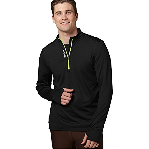 Reebok-Running-Essentials-Long-Sleeve-14-Zip-Pullover