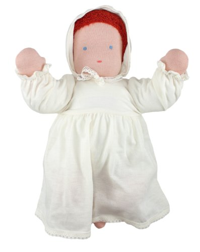 "Waldorf Baby Doll, 15"", Red Head front-274503"