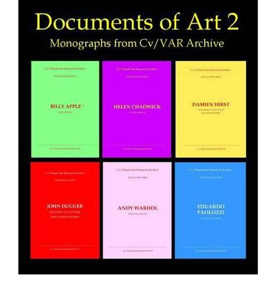 Documents Of Art 2: Monographs From Cv/Var Archive: Arman To James Turrell (Cd-Rom) - Common