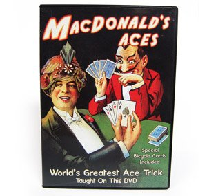 Macdonald's Aces with Gerry Griffin, Includes Special Bicycle Cards - THE Greatest Teaching DVD Ever Produced!