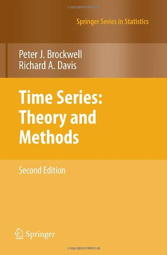 Time Series: Theory and Methods (Springer Series in Statistics)