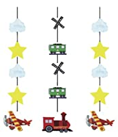"Creative Converting 3 Count ""On The Go"" Hanging Cutouts Party Decoration by Creative Converting"