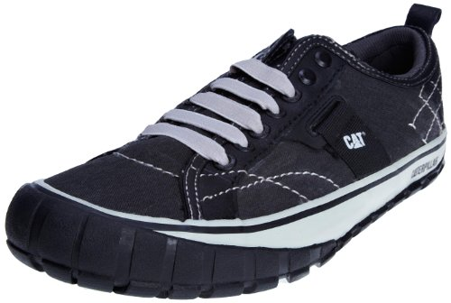CAT Footwear Men's Neder Canvas Black Lace Up P713030 10 UK