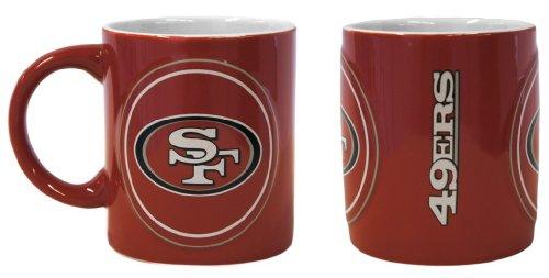 San Francisco 49Ers Sculpted Warm Up Coffee Mug