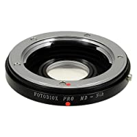 Fotodiox Lens Mount Adapter, Minolta MD/ MC Rokkor Lens to Nikon Camera, for Nikon D7100, D7000, D5200, D5100, D3100, D300, D300S, D200, D100, D50, D60, D70, D80, D90, D40, D40x, N70s, D80, D800, D800e, D4, D3, D2, D1, D300, D300s, and D200 from Fotodiox
