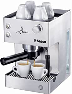 Philips Coffee Maker With Aroma Swirl Metal : Amazon.com: Philips Saeco RI9376/04 Aroma Espresso Machine, Stainless Steel: Expresso And ...
