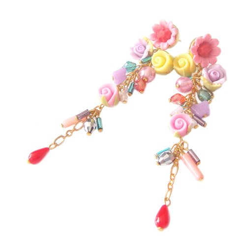 Romance Style Luxury Palace Earrings