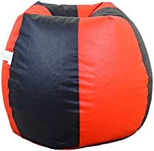 Orka XL Bean Bag Cover - Red and Black