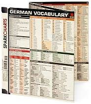 German Vocabulary (SparkCharts)