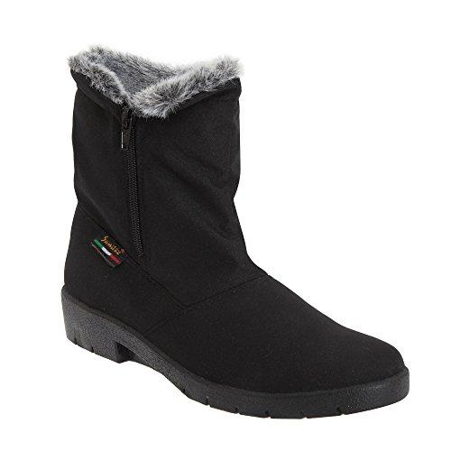 Mod Comfys - Stivali Invernali - Donna (8 UK) (Nero)