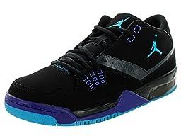 Nike Jordan Men\'s Jordan Flight23 Black/Bl Lgn/Anthracite/Brght Cncrd Basketball Shoe 11.5 Men US