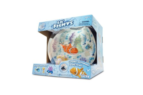 Lil Fishy Aquarium Lucky Playset (Lil Fishy Tank compare prices)