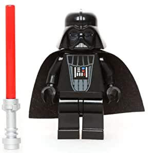 LEGO Star Wars Minifigure - Darth Vader Original Classic Version with Lightsaber (6211)
