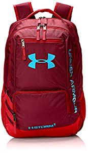 Under Armour Hustle II Backpack, Deep Red, One Size