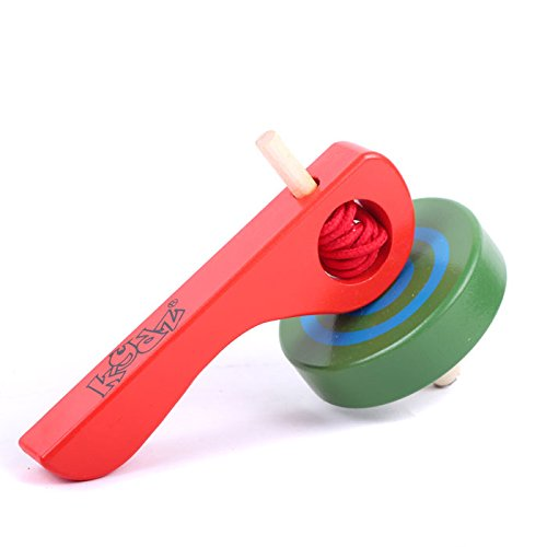 StarMall-Random-Color-Painted-Wooden-Spinning-Tops-Toys-with-Thread