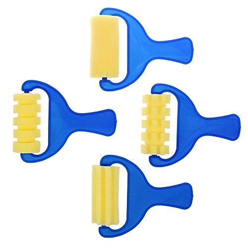 vanker-4pcs-set-de-rodillos-de-esponja-stamper-acuarela-aguada-infantil-para-ninos-cepillos-de-pintu