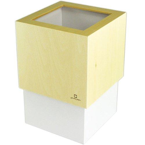 W CUBE ダストボックス DUSTBOX パープルホワイト YK06-012Pwh <34277>
