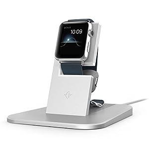 【日本正規代理店品】Twelve South HiRise for Apple Watch (デスクトップ充電スタンド) シルバー TWS-ST-000034