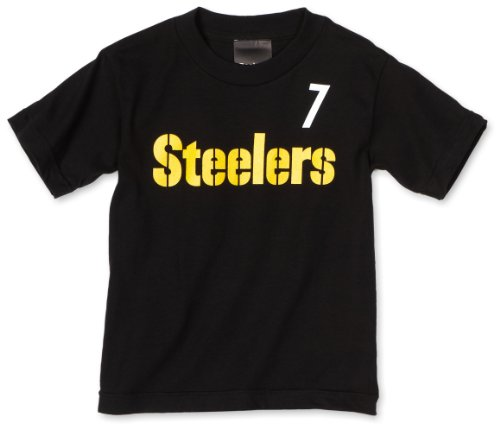 NFL Pittsburgh Steelers Ben Roethlisberger 8-20 Name & Number Tee Shirt Boys'
