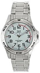Q&Q Analog White Dial Mens Watch - Q472N204Y