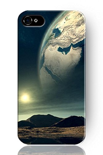 Sprawl New Fashion Design Hard Skin Case Cover Shell For Mobile Phone Apple Iphone 4 4S 4G--Personalized Space Universe View