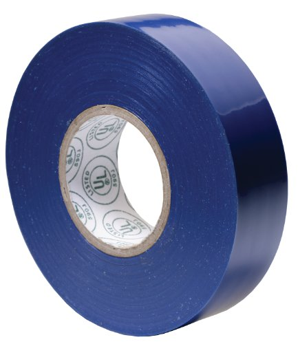 Gardner Bender GTB-667P 3/4-Inch by 60-Foot Blue Electrical Tape