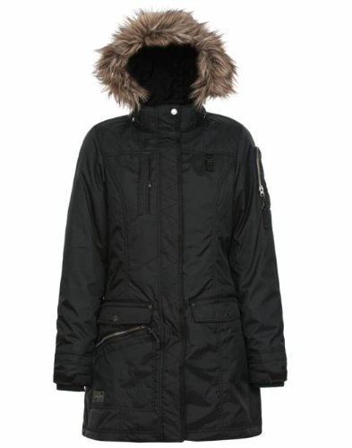 Icepeak Josefina - Outdoor-Wintermantel Damen, schwarz, 42